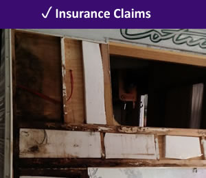 Insurance claim for damaged awning